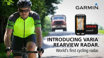 Garmin Varia Rearview Radar: World's First Cycling Radar