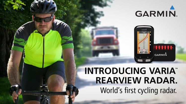 Garmin Varia Rearview Radar: World's First Cycling Radar