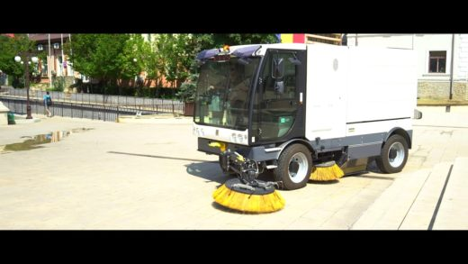 ISAL 6000:  new generation of sweeping machines